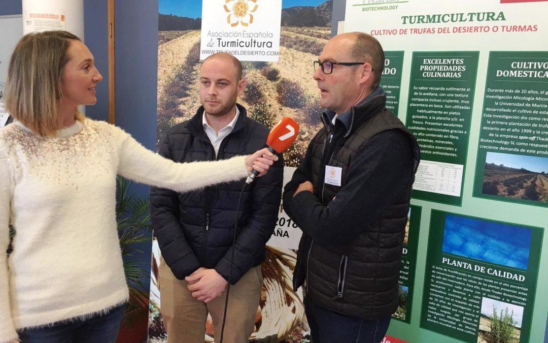 Éxito en la I Jornada de introducción al cultivo de Trufa del desierto.