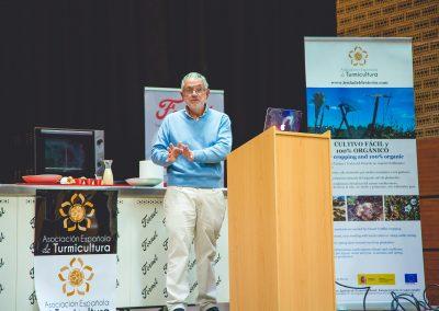 Antonio Rodriguez de Trufamania en Turma Forum en Corvera 2019