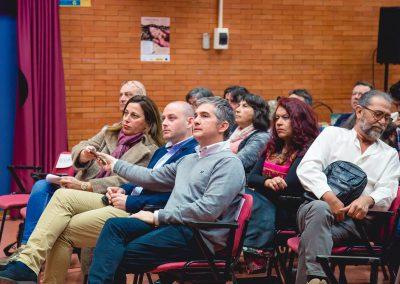 Consejero Agri Miguel del Amor Directora fondos agro Carmen Sandoval y Miguel Noguera alcalde Corvera Turma