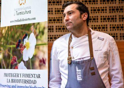 David Lopez Local de Ensayo Jornada gastronomica de la turma o trufa del desierto Corvera