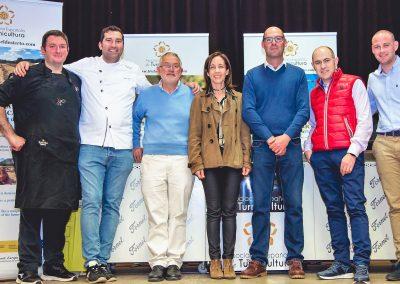 El equipo de la Turma cientíticos, agricultores y cocineros