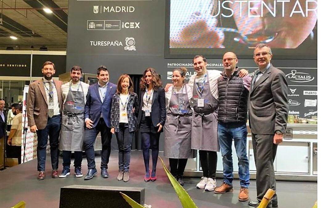 ASÍ FUE la presentación gastronómica de las TURMAS EN MADRIDFUSIÓN 2020